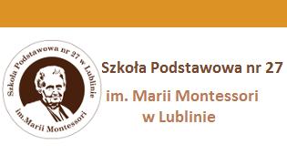 Szkoła Podstawowa nr 27 im.Marii Montessori w Lublinie
